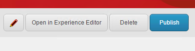 Open the FXM Experience Editor button screenshot