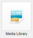 Media Library launch icon