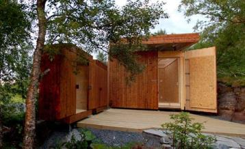 Wooden Shed Architected by Rever & Drage